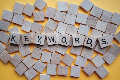 Researching the keywords for on page optimisation of your site in 2019