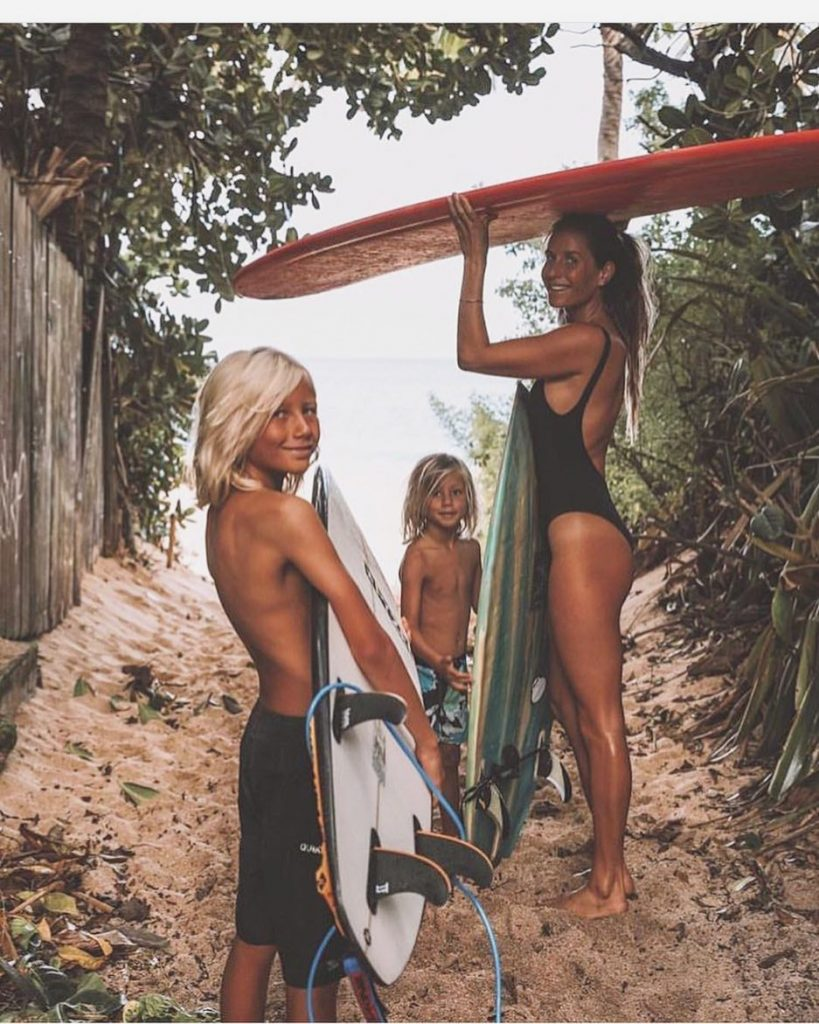 Growing Confidence for Kids Surf Lessons